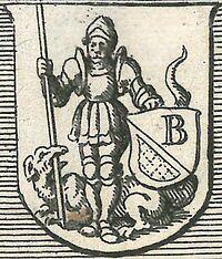 Wappen Bensheim von 1645