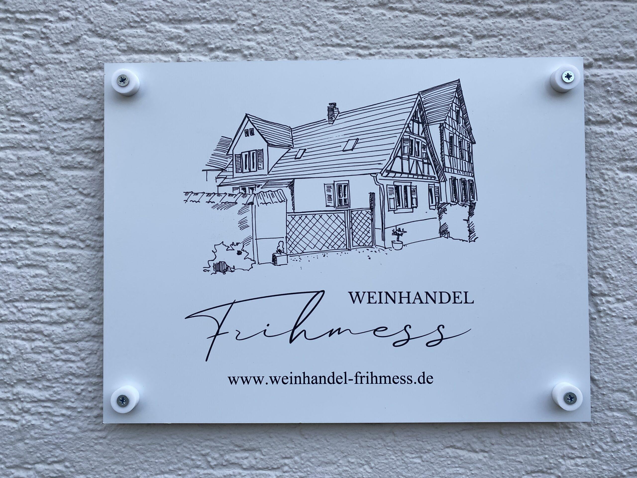 Weinhandel Frihmess Bensheim Auerbach