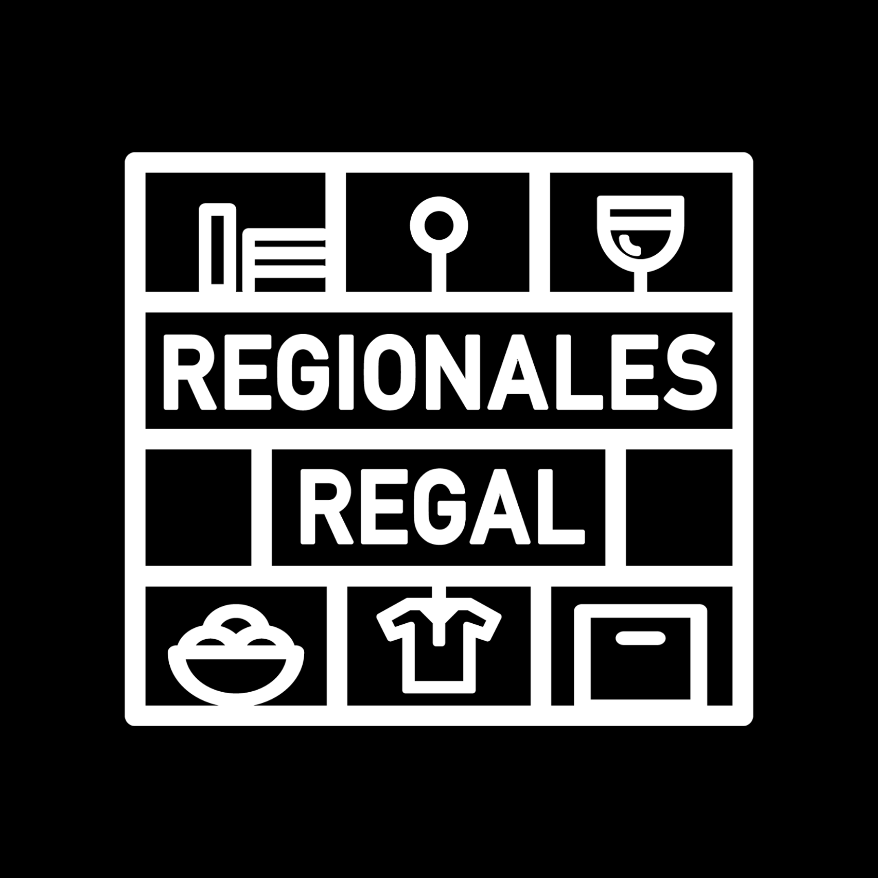 Regionales Regal