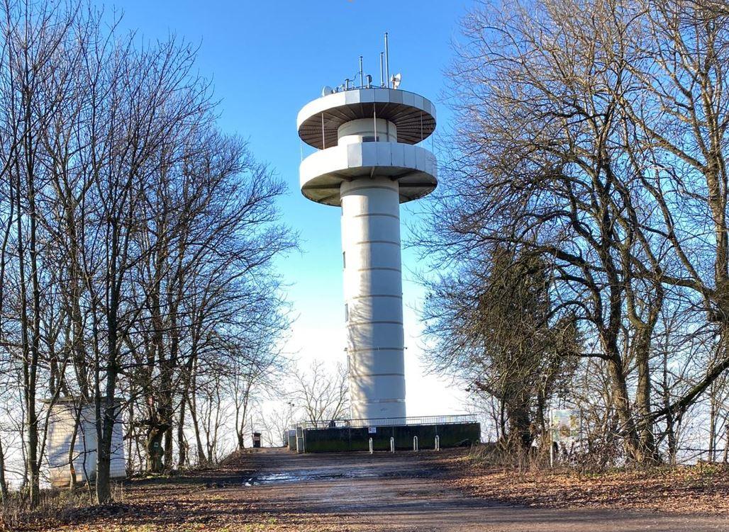 Melibokus Turm Bensheim Auerbach